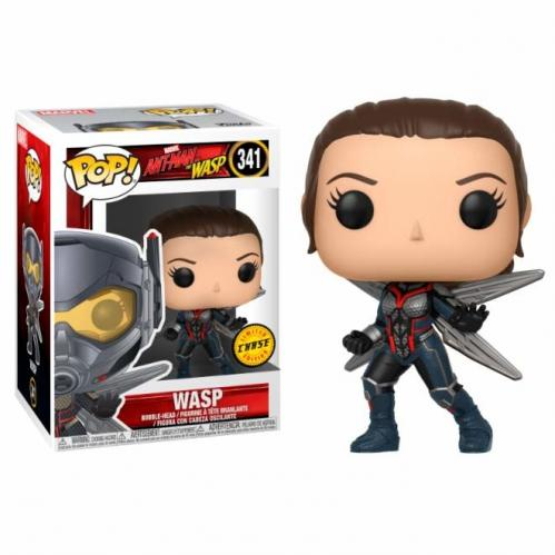 MARVEL - Bobble Head POP N° 341 - Ant-man : The Wasp CHASE EDITION