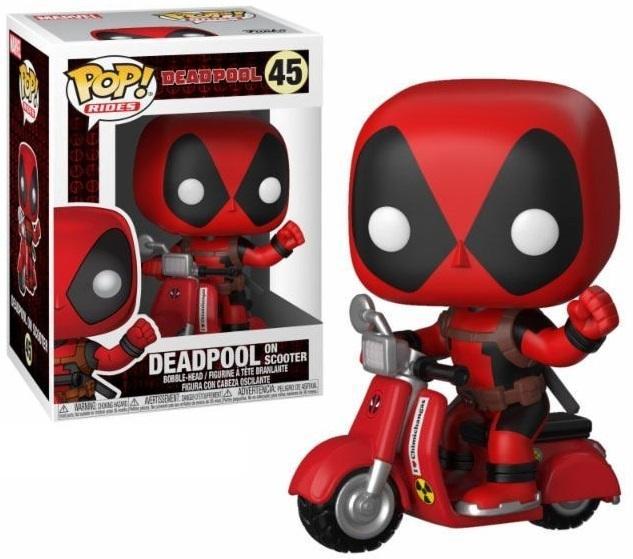 DEADPOOL - Bobble Head POP RIDE N° xxx - Deadpool and Scooter
