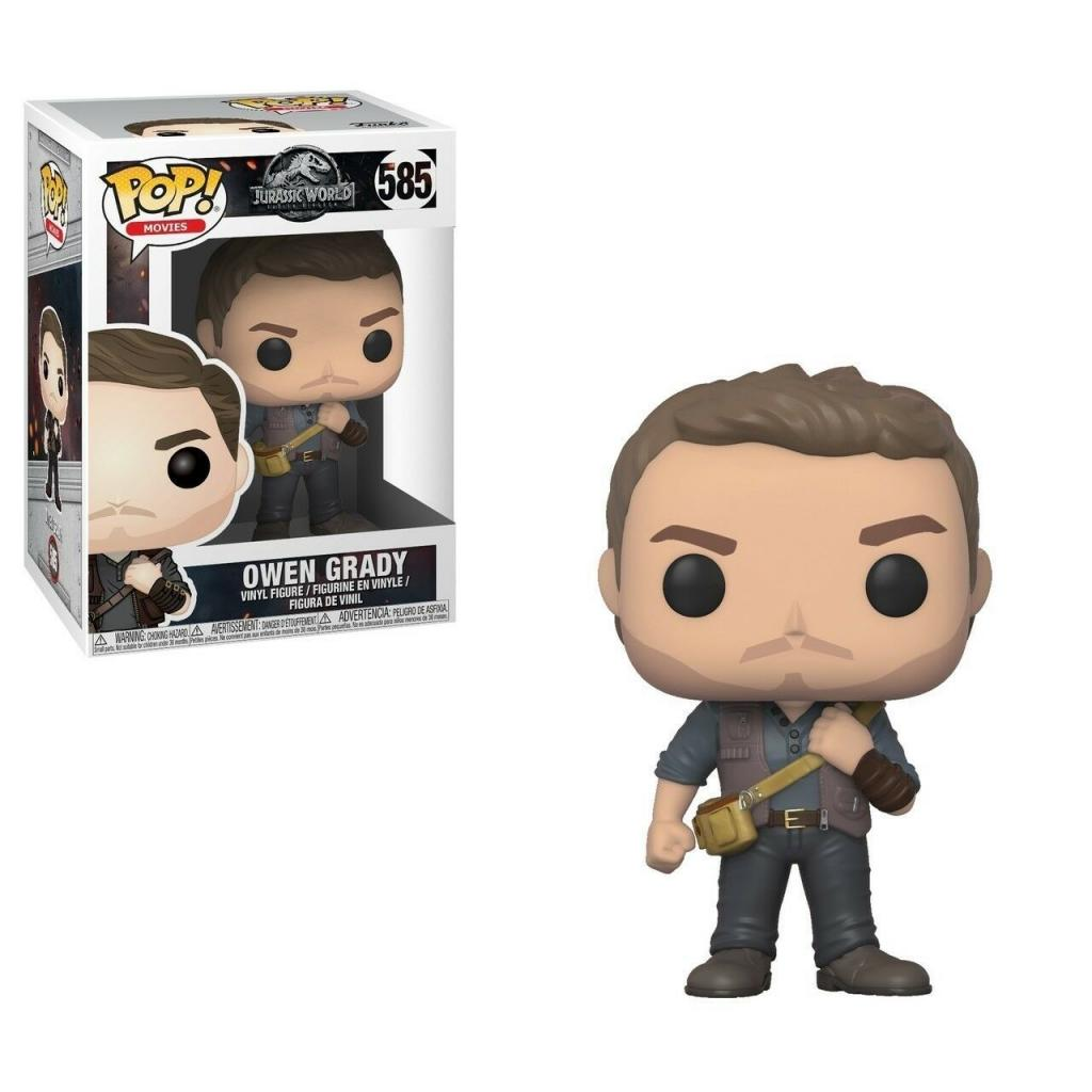 JURASSIC PARK F.E. - Bobble Head POP N° xxx - Owen