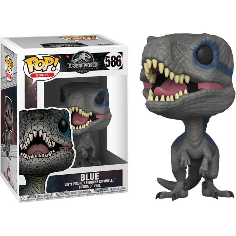 JURASSIC PARK F.E. - Bobble Head POP N° xxx - New Pose Blue