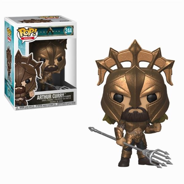 AQUAMAN - Bobble Head POP N° 244 - Arthur Curry as Gladiator