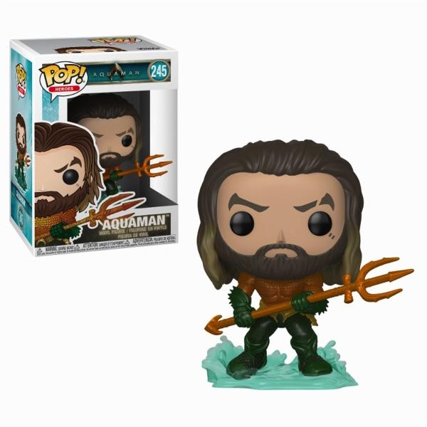 AQUAMAN - Bobble Head POP N° 245 - Arthur Curry in Hero Suit