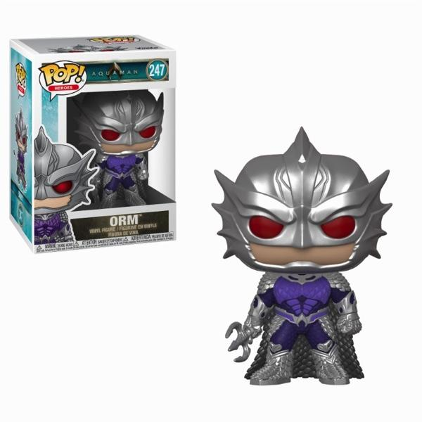 AQUAMAN - Bobble Head POP N° 247 - Orm