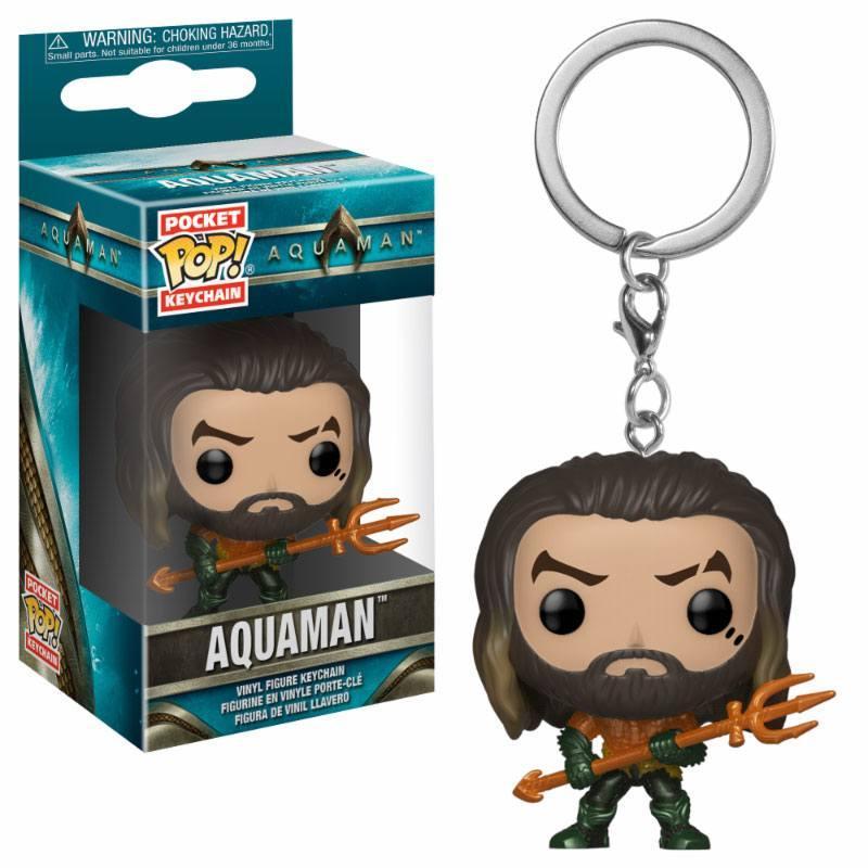 AQUAMAN - Pocket Pop Keychains - Arthur Curry as Gladiator - 4cm