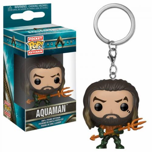AQUAMAN - Pocket Pop Keychains - Arthur Curry as Gladiator - 4cm