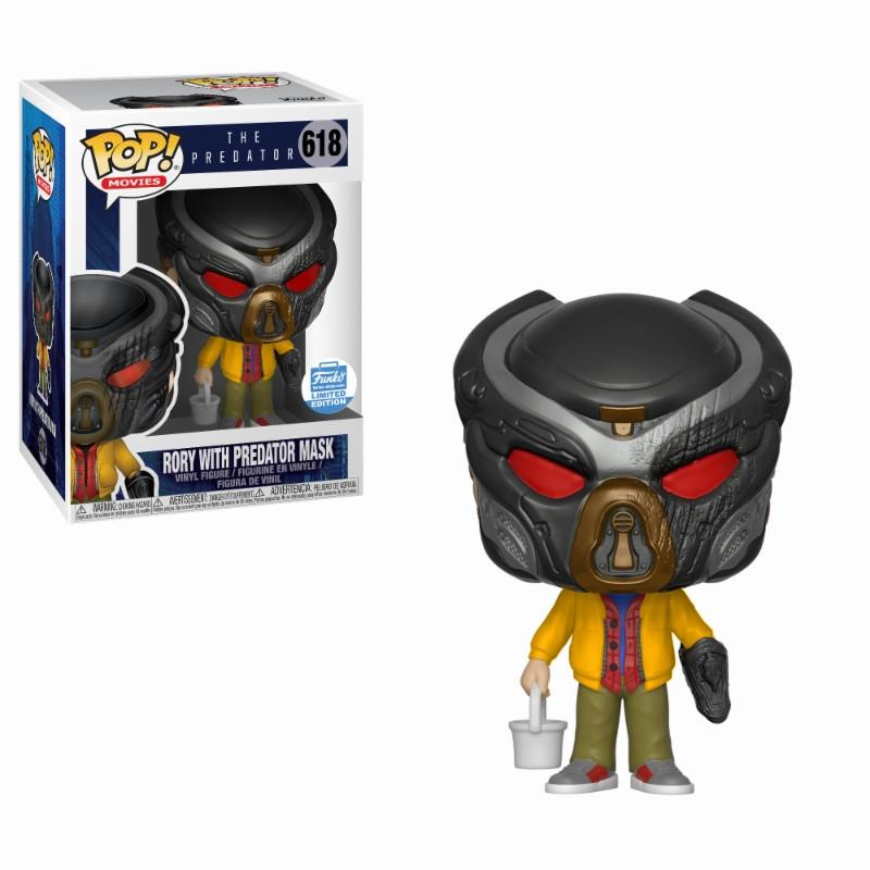 PREDATOR - Bobble Head POP N° 618 - Rory with Predator Mask LIMITED