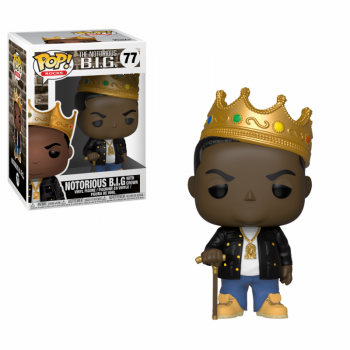 ROCKS - Bobble Head POP N° 77 - Notorious B.I.G. With Crown