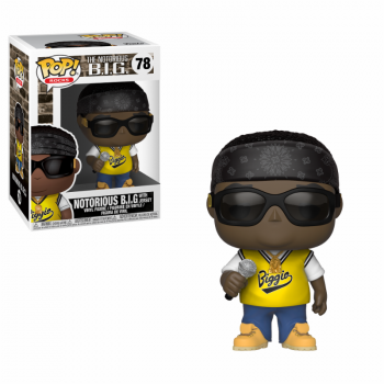 ROCKS - Bobble Head POP N° 78 - Notorious B.I.G. in Jersey