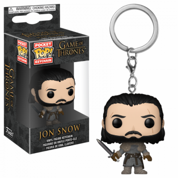 GAME OF THRONES - Pocket Pop Keychains : Jon Snow Beyond the Wall