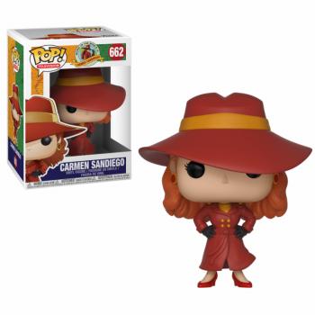 CARMEN SANDIEGO - Bobble Head POP N° 662 - Carmen Sandiego