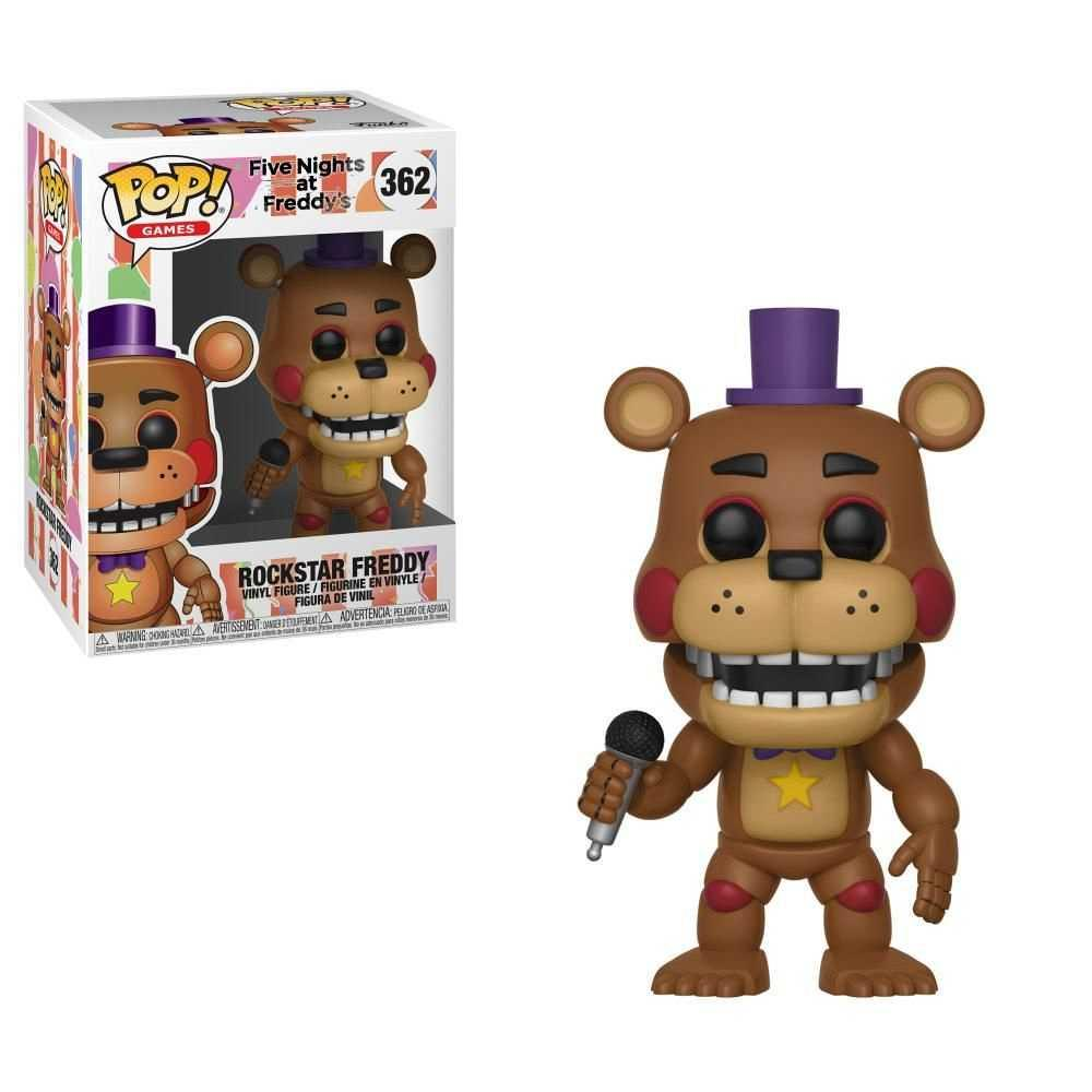 FIVE NIGHTS AT FREDDY'S - Bobble Head POP N° 362 - Freddy - 9cm
