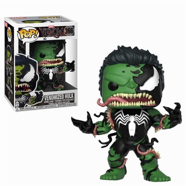 MARVEL VENOM - Bobble Head POP N° 366 - Venom/Hulk_1