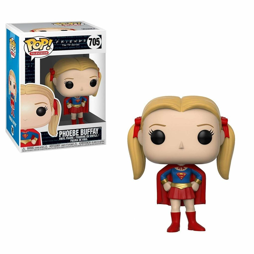 TV FRIENDS - Bobble Head POP N° 705 - Phoebe as Supergirl