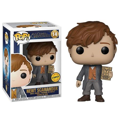 FANTASTIC BEASTS 2 - Bobble Head POP N° 14 - Norbert Dragonneau CHASE
