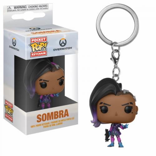 Pocket Pop Keychains : Overwatch - Sombra