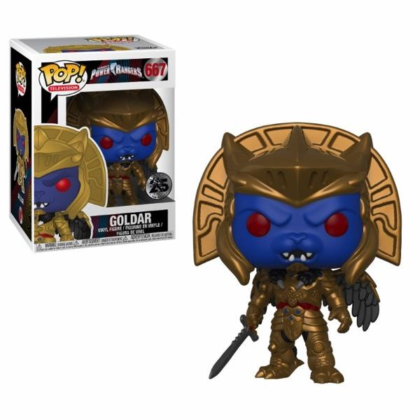 POWER RANGER - Bobble Head POP N° 667 - Goldar