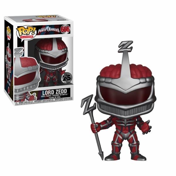 POWER RANGER - Bobble Head POP N° 666 - Lord Zedd