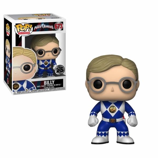POWER RANGER - Bobble Head POP N° 673 - Blue Ranger Without Helmet