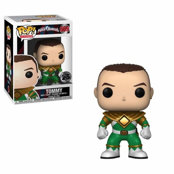 POWER RANGER - Bobble Head POP N° 669 - Green Ranger Without Helmet