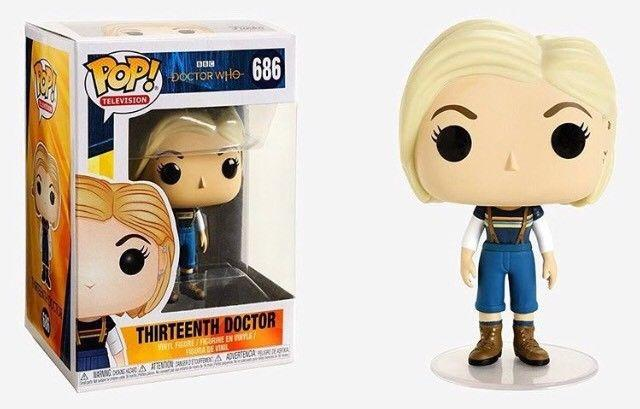 DOCTOR WHO - Bobble Head POP N° 686 - 13th Doctor With Out Coat