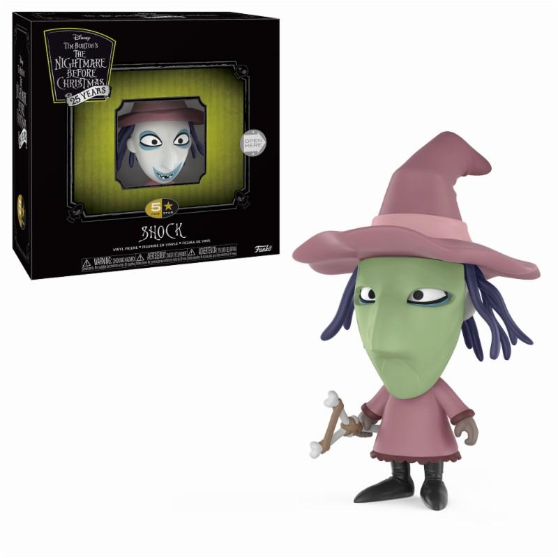 NIGHTMARE BEFORE CHRISTMAS- 5 Star Vinyl Figure 8 cm - Shock