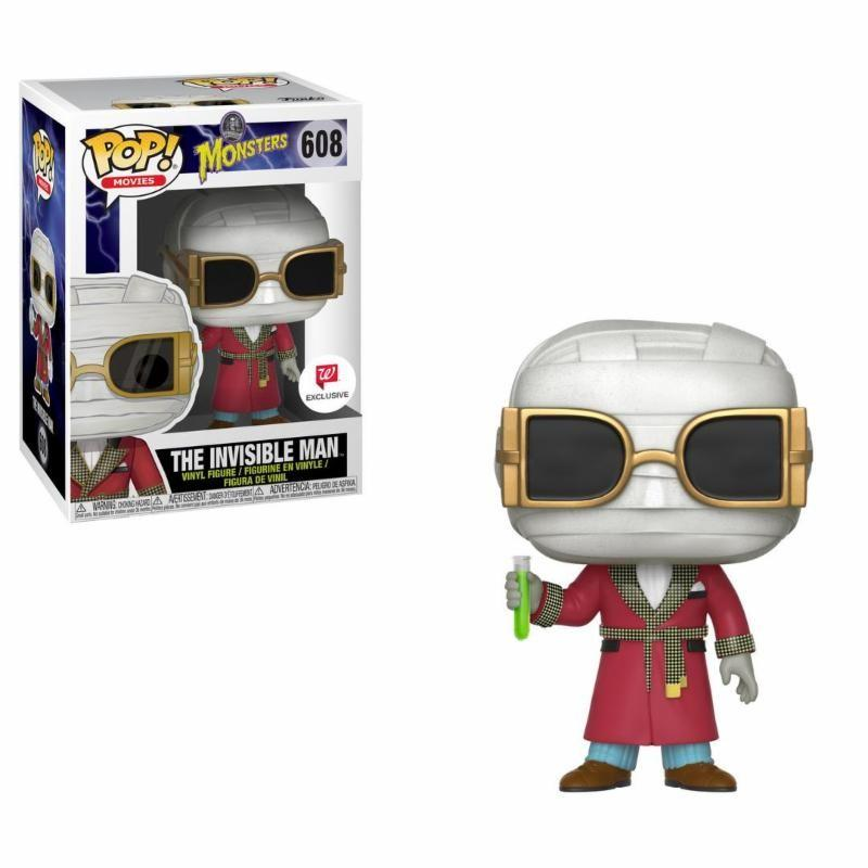UNIVERSAL MONSTERS - Bobble Head POP N° 608 - Invisible Man LIMITED