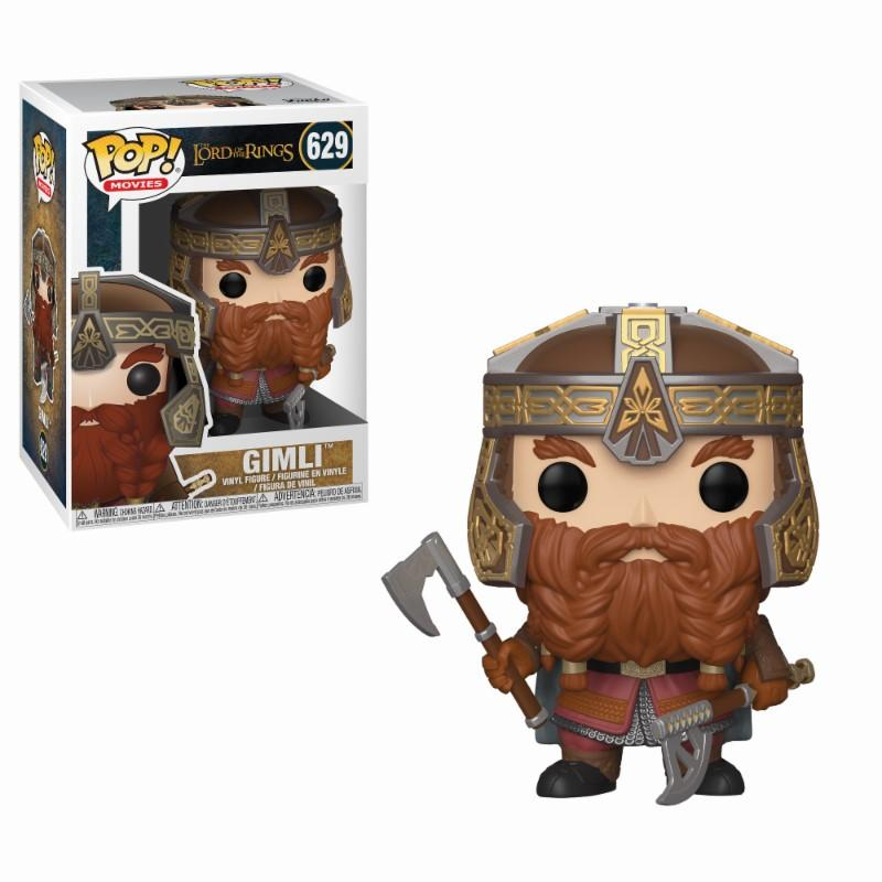 LORD OF THE RINGS - Bobble Head POP N° 629 - Gimli_1
