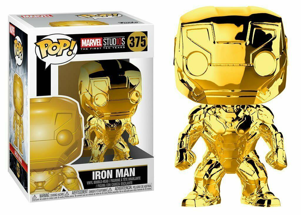 MARVEL MCU 10tn Anniver. - Bobble Head POP N° 375 - Iron Man Chrone
