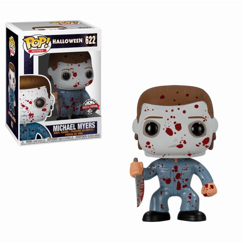 HORROR - Bobble Head POP N° 622 - Blood Splattered Micheal Myers LTD_1