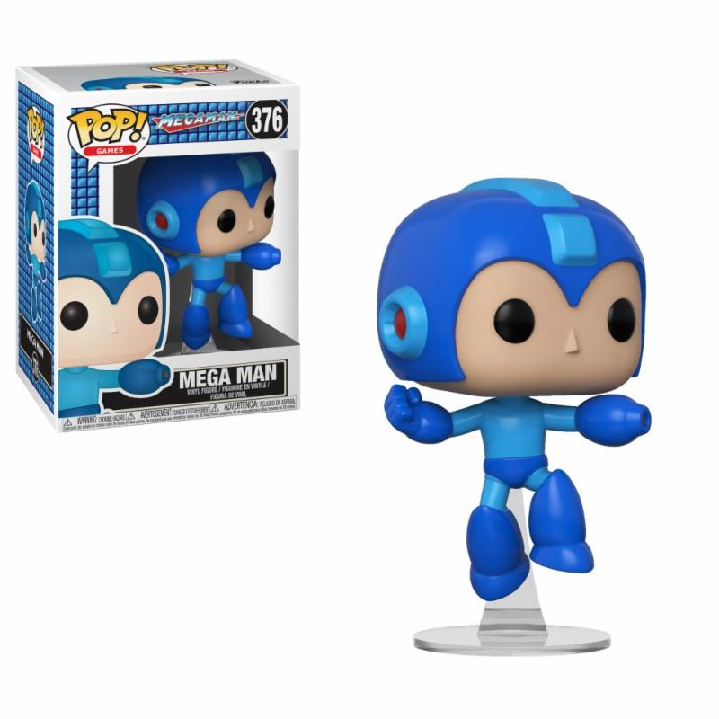 MEGA MAN - Bobble Head POP N° 376 - Mega Man Jumping