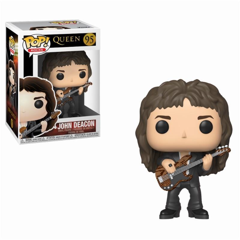 QUEEN - Bobble Head POP N° 95 - John Deacon