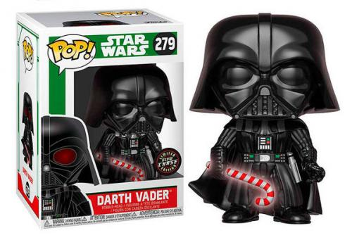 STAR WARS - Bobble Head POP N° 279 - Holiday - Darth Vader CHASE