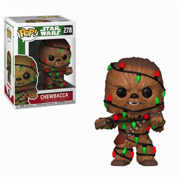 STAR WARS - Bobble Head POP N° 278 - Holiday - Chewie with Lights