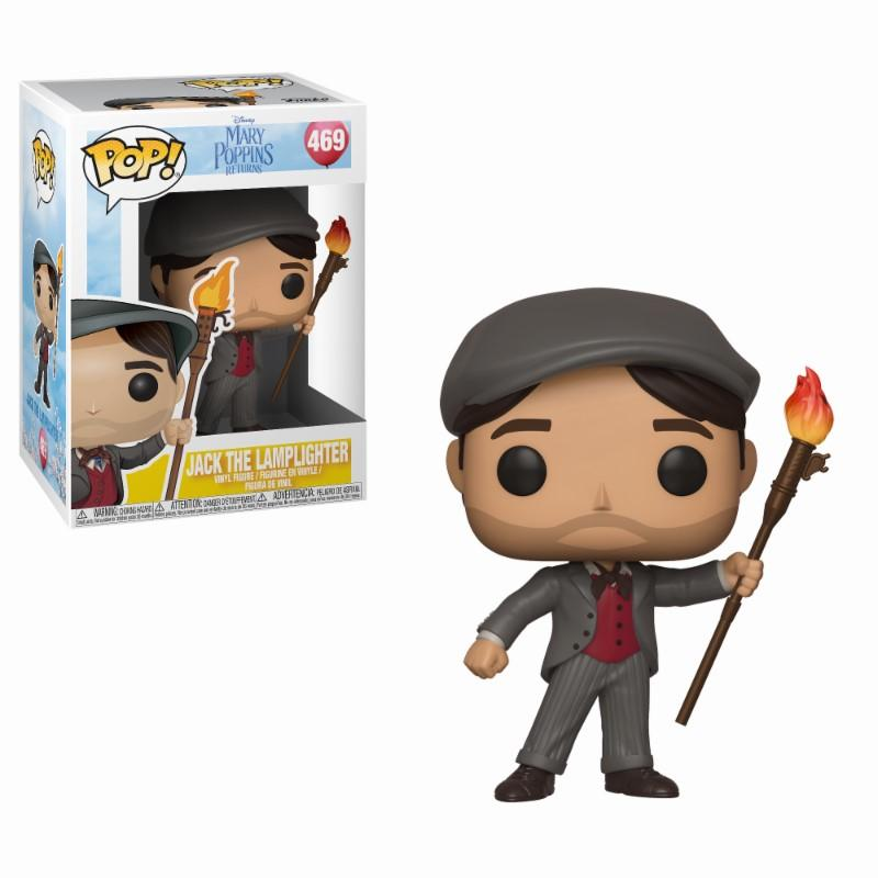 MARY POPPINS - Bobble Head POP N° 469 - Jack the Lamplighter
