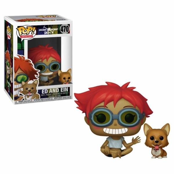 COWBOY BEBOP - Bobble Head POP N° 470 - Edward and Elm