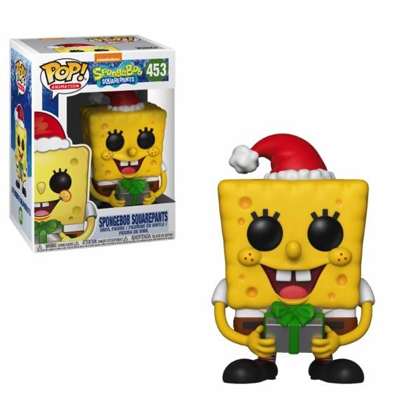 SPONGEBOB - Bobble Head POP N° 453 - X-Mas Bob