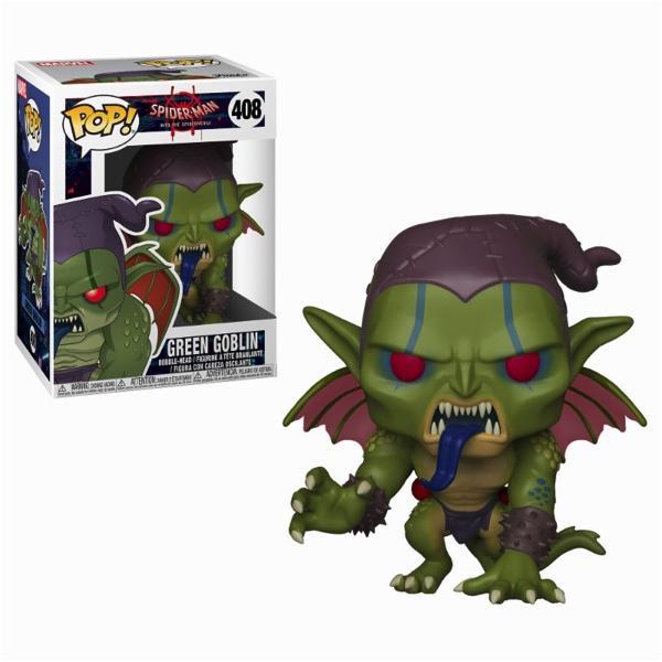 MARVEL ANIMATED SPIDERMAN - Bobble Head POP N° 408 - Green Goblin