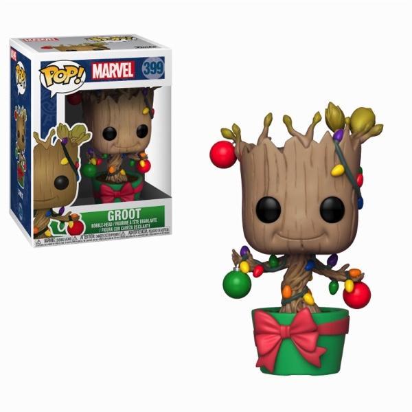 MARVEL - Bobble Head POP N° 399 - Holiday Groot_1