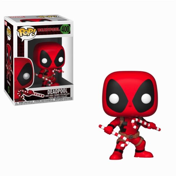 MARVEL - Bobble Head POP N° 400 - Holiday Deadpool
