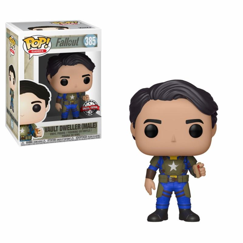 FALLOUT - Bobble Head POP N° 385 - Vault Dweller with Mentats LIMITED