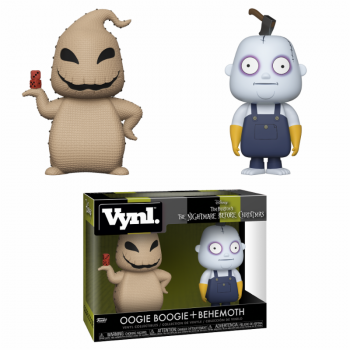 NIGHTMARE BEFORE CHRISTMAS - Funko VYNL 2-Pack - Boogie & Behemoth