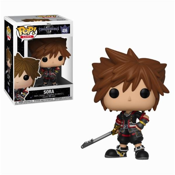 KINGDOM HEARTS 3 - Bobble Head POP N° 406 - Sora