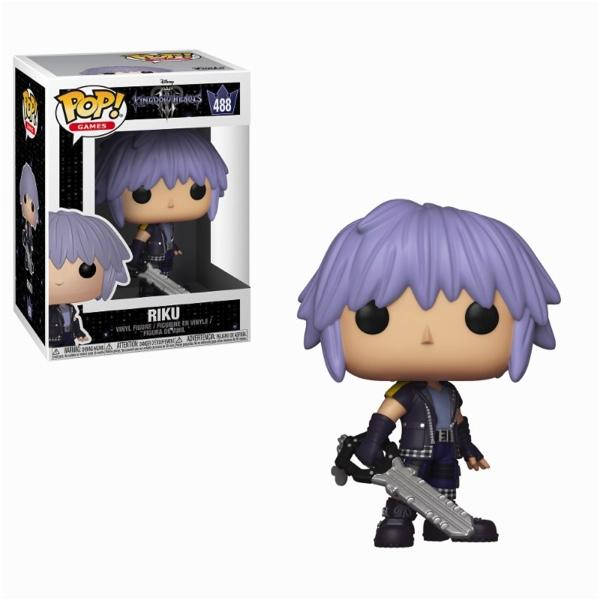 KINGDOM HEARTS 3 - Bobble Head POP N° 488 - Riku