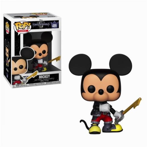 KINGDOM HEARTS 3 - Bobble Head POP N° 489 - Mickey