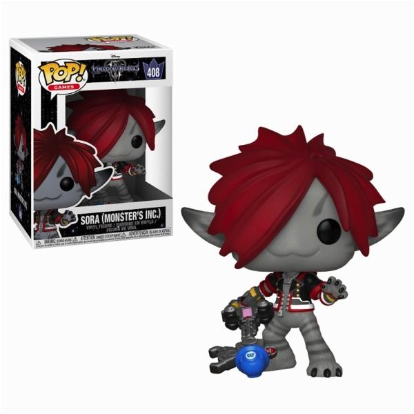 KINGDOM HEARTS 3 - Bobble Head POP N° 408 - Sora Monsters Inc.