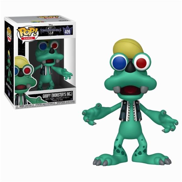 KINGDOM HEARTS 3 - Bobble Head POP N° 409 - Goofy Monsters Inc.