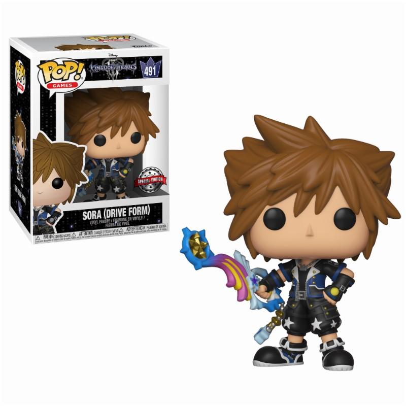KINGDOM HEARTS 3 - Bobble Head POP N° 491 - Drive Form Sora LTD