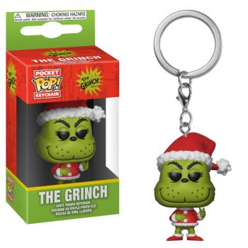 Pocket Pop Keychains : The Grinch - Noël - Limited