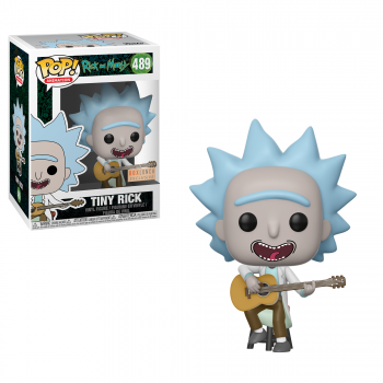 RICK & MORTY - Bobble Head POP N° 489 - Tiny Rick with Guitar