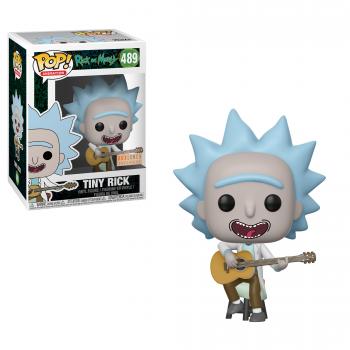 RICK & MORTY - Bobble Head POP N° 489 - Tiny Rick with Guitar